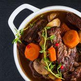 Guinness Bull Beef - Ragout