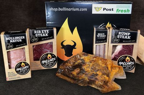 Bull Beef einfach Grillen Box
