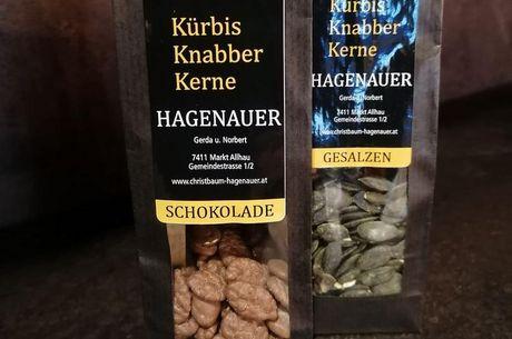 Kürbis - Knabberkerne Schokolade