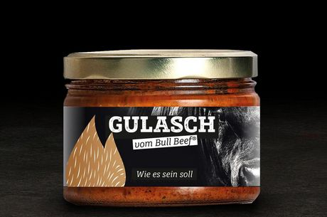 Bull Beef Gulasch 350ml